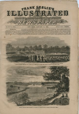 1865 Frank Leslie's Illustrated Newspaper