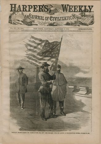 1865 Harper's Weekly Newspaper