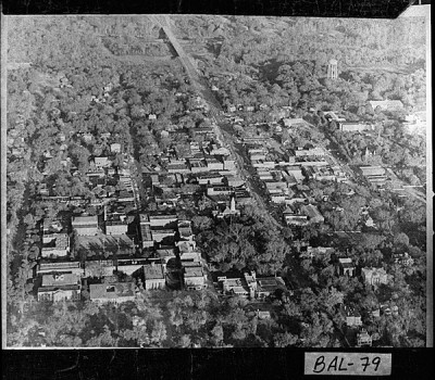 Downtown Milledgeville, 1973